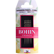 Size 24 6/Pkg - Double Eye Chenille Hand Needles