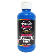 Blue - Washable Poster Paint 8oz