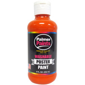 Orange - Washable Poster Paint 8oz