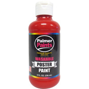 Red - Washable Poster Paint 8oz