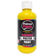 Yellow - Washable Poster Paint 8oz