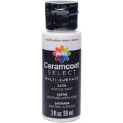 White - Ceramcoat Select Multi-Surface Paint 2oz