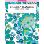 Modern Flowers Coloring Book - Design Originals