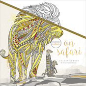 On Safari - KaiserColour Perfect Bound Coloring Book