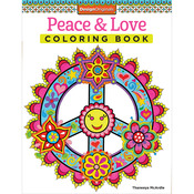 Peace & Love Coloring Book - Design Originals