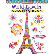 World Traveler Coloring Book - Design Originals