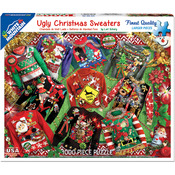 "Ugly Christmas Sweater - Jigsaw Puzzle 1000 Pieces 24""X30"""