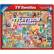 "TV Families - Jigsaw Puzzle 1000 Pieces 24""X30"""