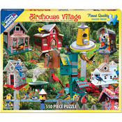 "Birdhouse Village - Jigsaw Puzzle 550 Pieces 18""X24"""