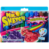 Chisel - Mr.Sketch Scented Washable Marker Set 10/Pkg