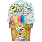 Chisel Ice Cream - Mr.Sketch Scented Washable Marker Set 6/Pkg