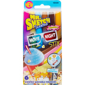 Stix Movie Night - Mr.Sketch Scented Washable Marker Set 6/Pkg