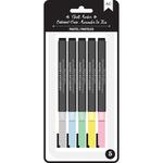 Pastels - American Crafts Erasable Chalk Markers 5/Pkg