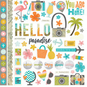 You Are Here Fundamentals Sticker Sheet - Simple Stories