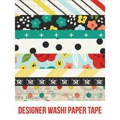 Life In Color Washi Paper Tape - Simple Stories