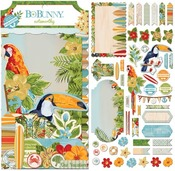 Beach Therapy Noteworthy Die-Cuts - Bo Bunny
