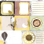 "Beautiful Dreamer Vellum Paper 12""X12"" - Bo Bunny"