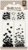 I Heart Stars Stamps - Bo Bunny
