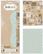 Soiree Decoupage Paper Pack - Bo Bunny