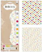 Toy Box Decoupage Paper Pack - Bo Bunny