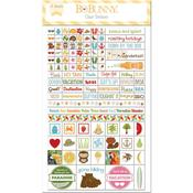 Summer Fun Clear Planner Stickers - Bo Bunny