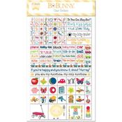 Play Time Clear Stickers - Bo Bunny