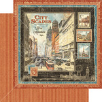 Cityscapes Paper - Cityscapes - Graphic 45