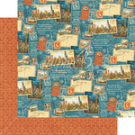 Passport To The World Paper - Cityscapes - Graphic 45