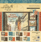 Cityscapes 12 x 12 Paper Pad - Graphic 45