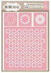 Kaleidoscope Stickable Stencils - Bo Bunny