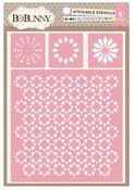 Kaleidoscope Stickable Stencils - Bo Bunny