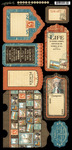 Cityscapes Tags & Pockets - Graphic 45