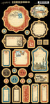Cityscapes Journaling Chipboard - Graphic 45