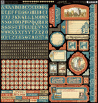 Cityscapes Sticker Sheet - Graphic 45