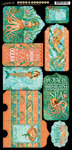 Voyage Beneath The Sea Tags & Pockets - Graphic 45
