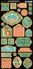 Voyage Beneath The Sea Decorative Chipboard - Graphic 45