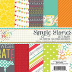 Lets Party 6 x 6 Paper Pad - Simple Stories