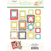 Lets Party Chipboard Frames - Simple Stories