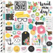Carpe Diem Fundamental Stickers - Simple Stories