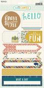Happy Camper 6 x 12 Sticker Sheet - My Minds Eye