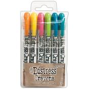 Tim Holtz Distress Crayon Set #1