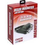 Black - LumiVisor LED Magnifying Head-Visor
