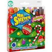 Chisel Holiday - Mr.Sketch Scented Washable Marker Set 6/Pkg