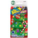 Stix Holiday - Mr.Sketch Scented Washable Marker Set 6/Pkg