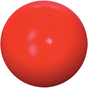 "Red - Virtually Indestructible Ball 10"""