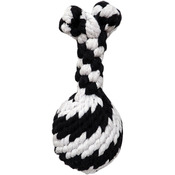 """Large - Super Scooch Rope Drumstick With Squeaker Dog Toy 8"""""""