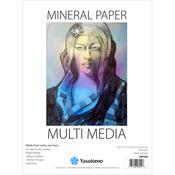 """Multi-Media Mineral Paper Pad 9""""X12"""" 20 Sheets"""