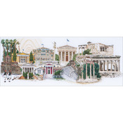 "31""X20"" 36 Count - Athens On Linen Counted Cross Stitch Kit"