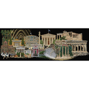 "31""X20"" 18 Count - Athens On Aida Counted Cross Stitch Kit"
