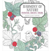 Harmony Of Nature Coloring Book - Sterling Publishing